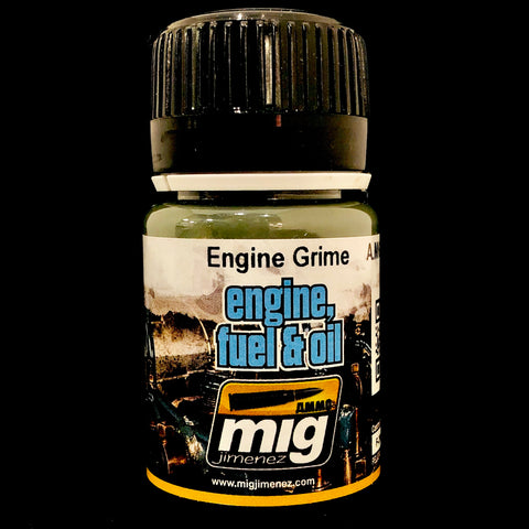 Ammo Engine, Fuel & Oil: Engine Grime Enamel Weathering Set