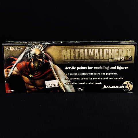 Scale 75 Metal n' Alchemy Golden Series Paint Set