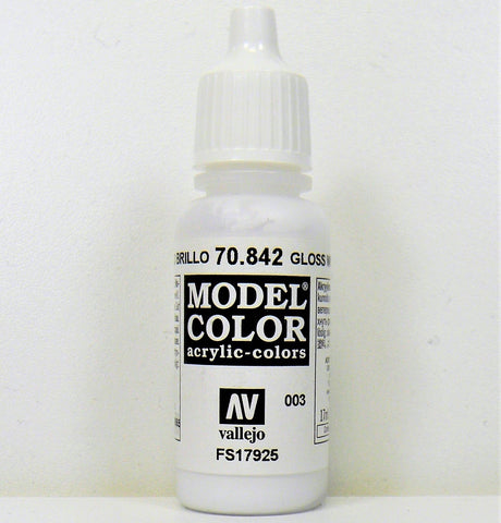 Vallejo Acrylic Model Color- Gloss White
