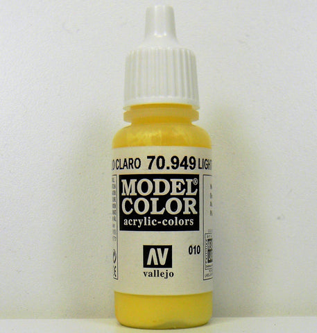Vallejo Acrylic Model Color- Light Yellow