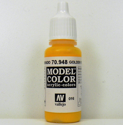 Vallejo Acrylic  Model Color- Golden Yellow