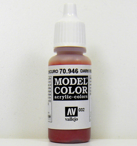 Vallejo Model Color Acrylic- Dark Red