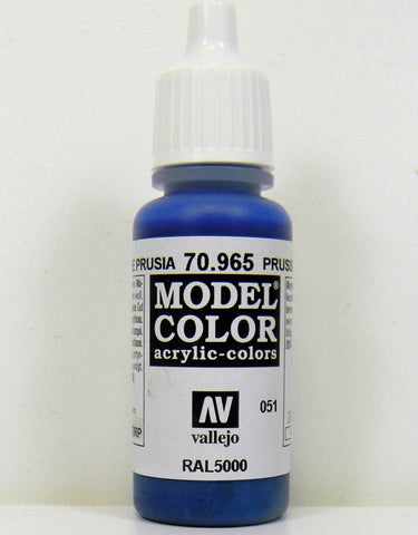 Vallejo Acrylic Model Color- Prussian Blue