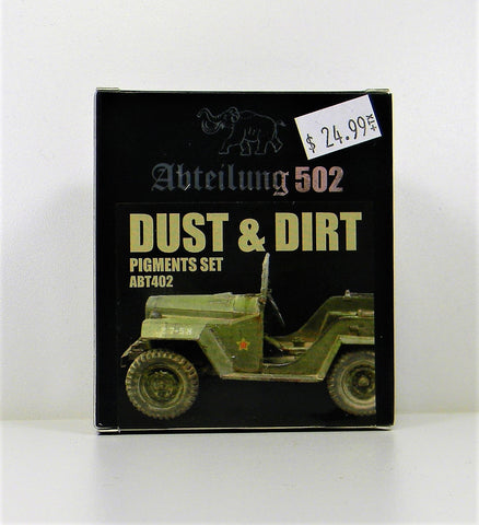 Abteilung 502- Dust And Dirt Pigments Set