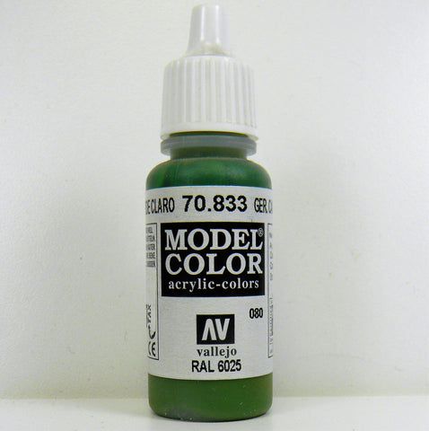 Vallejo Acrylic Model Color- German Camouflage Bright Green