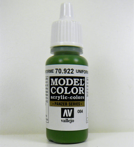 Vallejo Acrylic Model Color- Uniform Green