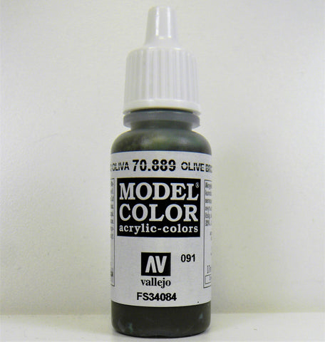 Vallejo Acrylic Model Color- Olive Brown