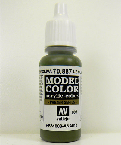 Vallejo Acrylic Model Color- US Olive Drab