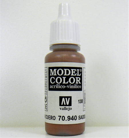 Vallejo Acrylic Model Color- Saddle Brown