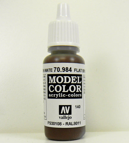 Vallejo Acrylic Model Color- Flat Brown