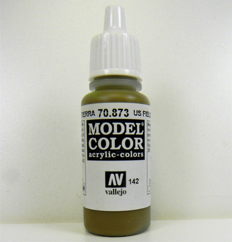 Vallejo Acrylic Model Color- US Field Drab