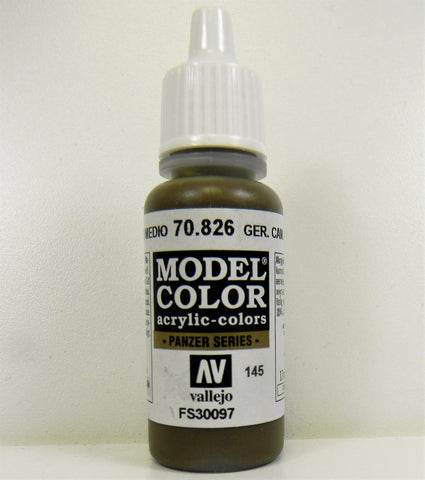Vallejo Acrylic Model Color- German Camouflage Medium Brown