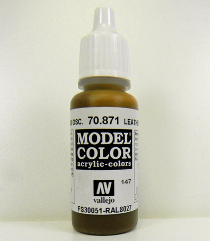 Vallejo Acrylic Model Color- Leather Brown