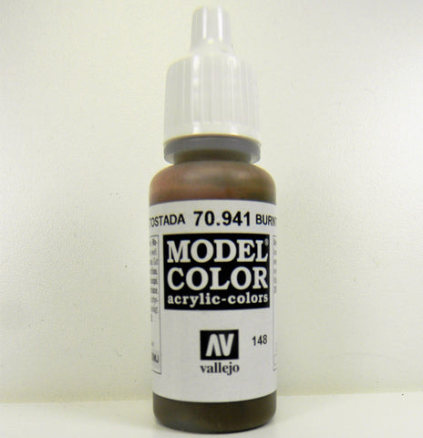 Vallejo Acrylic Model Color- Burnt Umber