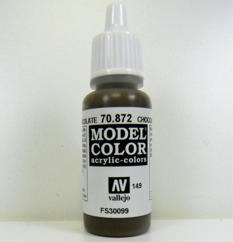 Vallejo Acrylic Model Color- Chocolate Brown