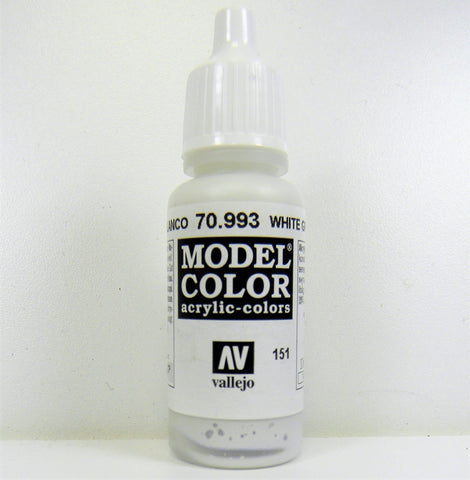 Vallejo Acrylic Model Color- White Grey