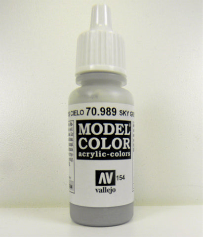 Vallejo Acrylic Model Color- Sky Grey