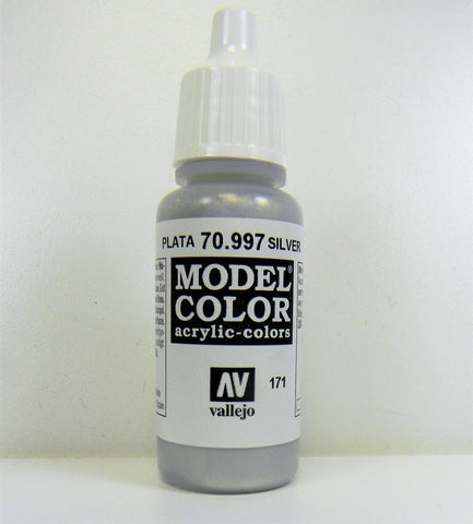 Vallejo Acrylic Model Color- Silver