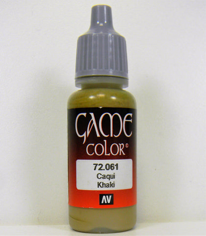 Vallejo Acrylic Game Color- Khaki