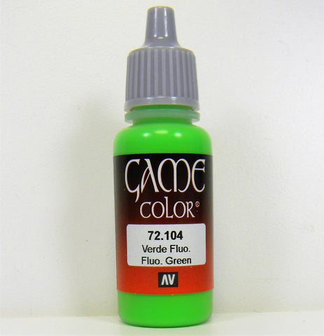 Vallejo Acrylic Game Color- Fluorescent Green