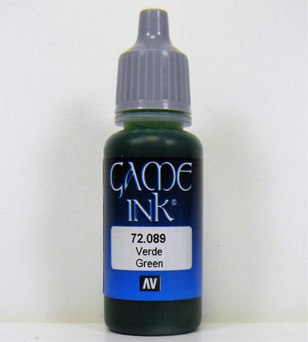 Vallejo Acrylic Game Color Ink- Green