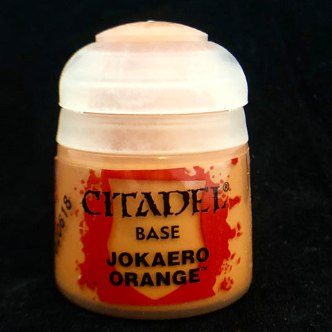Games Workshop Citadel Base: Jokaero Orange