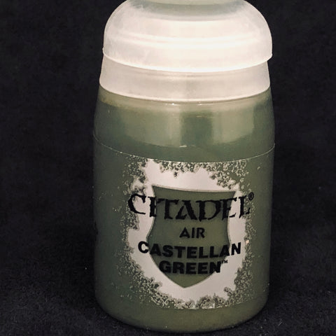 Games Workshop Citadel Air: Castellan Green