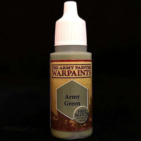 The Army Painter Warpaints Acrylic: Army Green