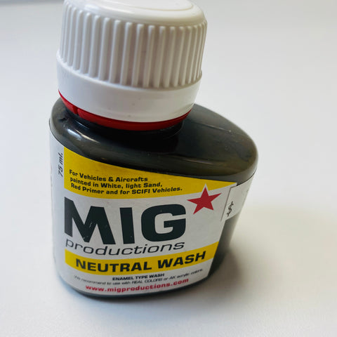 Mig Productions Neutral Wash P222 75 ML.