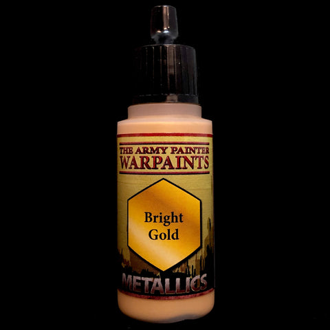 The Army Painter Warpaints Acrylic Metals: Bright Gold