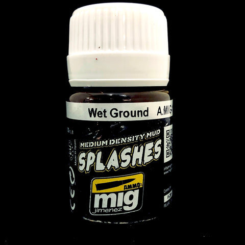 Ammo Medium Density Mud Splashers-Wet Ground