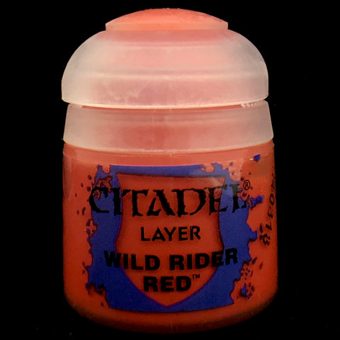 Games Workshop Citadel Layer:  Wild Rider Red