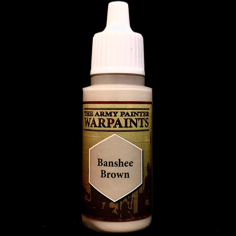 The Army Painter Warpaints Acrylic: Banshee Brown
