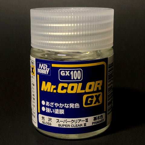 Mr. Color GX Super Clear III Gloss