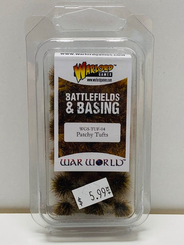 War World Battlefields And Basings Patchy Tufts WGS-TUF-04