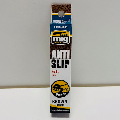 Ammo By Mig Jimenez Anti Slip Paste (Scale: 1/35) Brown A.MIG-2035