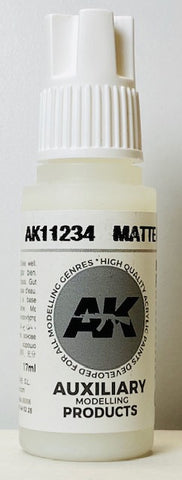 AK Interactive 3rd Generation Auxiliary Modeling Colors Matte Medium AK11234