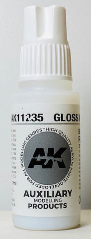 AK Interactive 3rd Generation Auxiliary Modeling Colors Gloss Medium AK11235