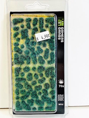 Gamers Grass Tufts Alien Turquoise 6mm Wild Tufts 70x GGA-TG