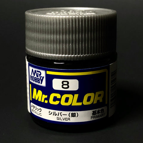Mr. Color Metallic Silver #8