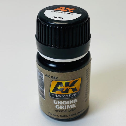 AK Interactive Engine Grime Enamel Color AK 082