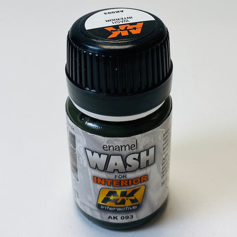 AK Interactive Enamel Wash for Interior AK 093