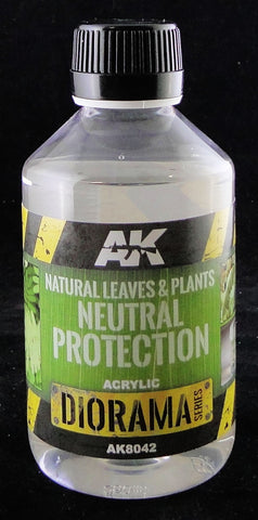 AK Interactive Natural Leaves & Plants Neutral Protection Diorama Series