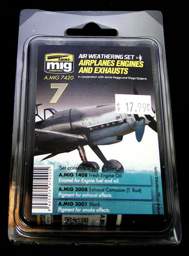 Ammo Air Weathering Set Airplanes Engines & Exhausts