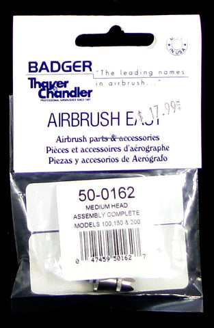 Badger Airbrush Medium Head Assembly