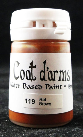 Coat D'arms Acrylic Paint Rat Brown 119