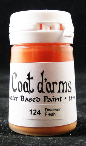 Coat D'arms Acrylic Paint Dwarven Flesh 124