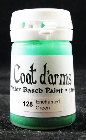 Coat D'arms Acrylic Paint Enchanted Green 128