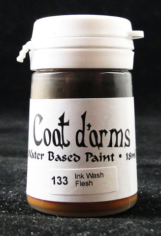 Coat D'arms Acrylic Paint Ink Wash Flesh 133