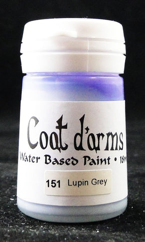 Coat D'arms Acrylic Paint Lupin Grey 151